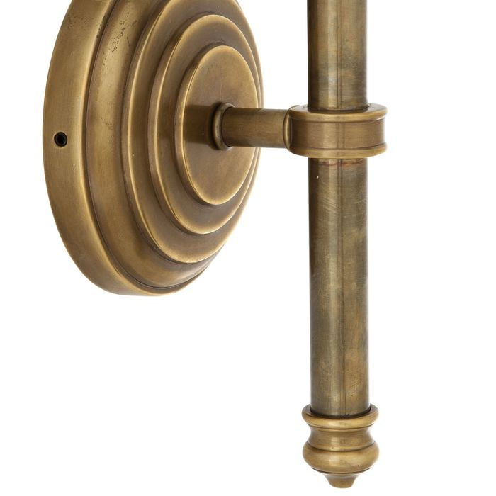EICHHOLTZ_Wall Lamp Favonius vintage brass finish incl. shad