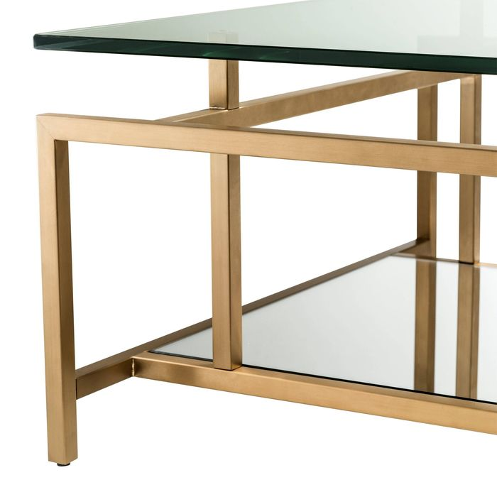 EICHHOLTZ_Coffee Table Superia brushed brass finish