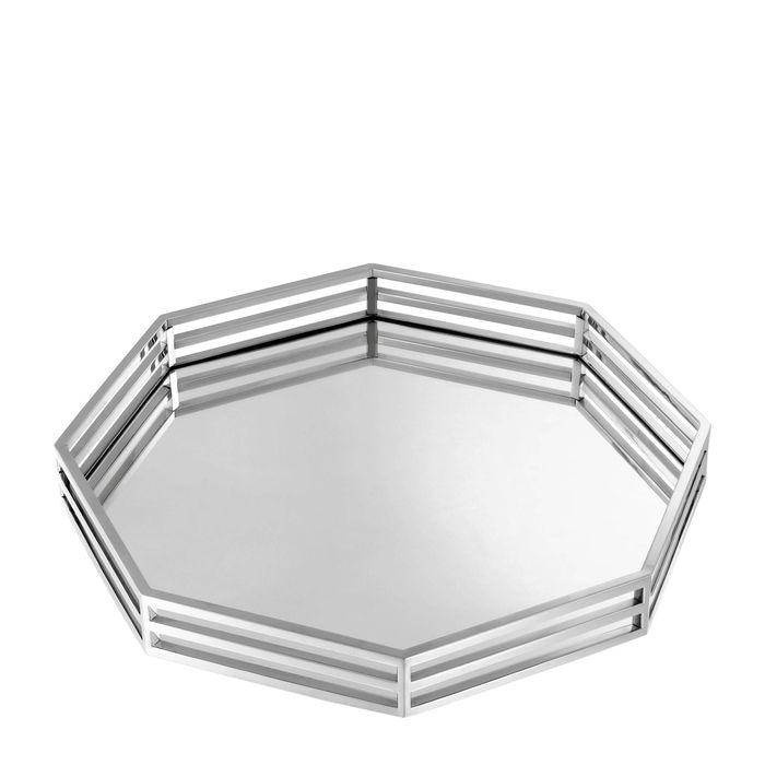 EICHHOLTZ_Tray Peregrina octagonal