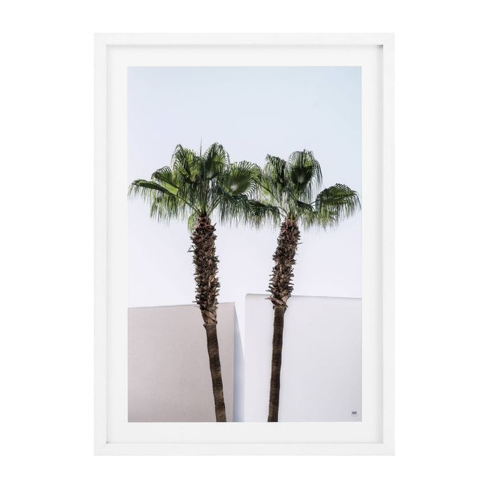 EICHHOLTZ_Prints EC273 Minimal Palm Trees set of 2