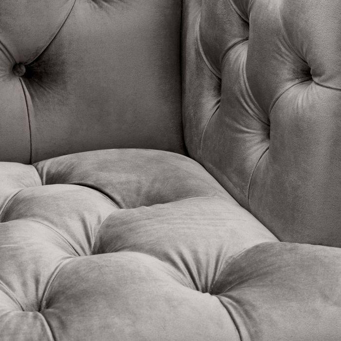 EICHHOLTZ_Chair Castelle roche porpoise grey velvet
