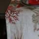 テーブルランナーアクアリウス