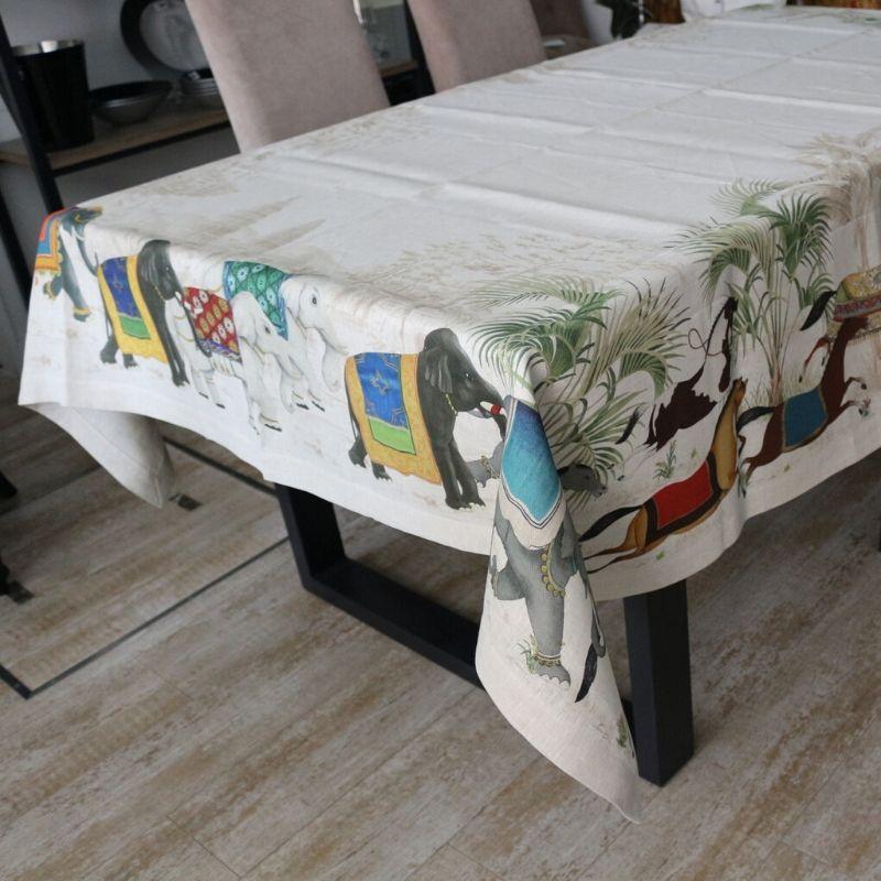 テーブルクロスバルナム