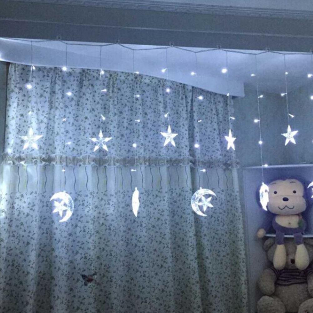 LEDイルミネーションライト  2.5M 12星 インテリアライト ストリングライト クリスマス 飾り  防水  屋外対応  8つ点灯パターン