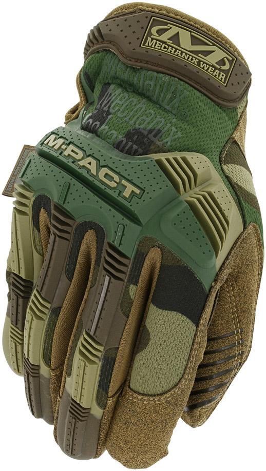 MechanixWear/メカニクスウェア M-pact Glove 【Woodland Camo】