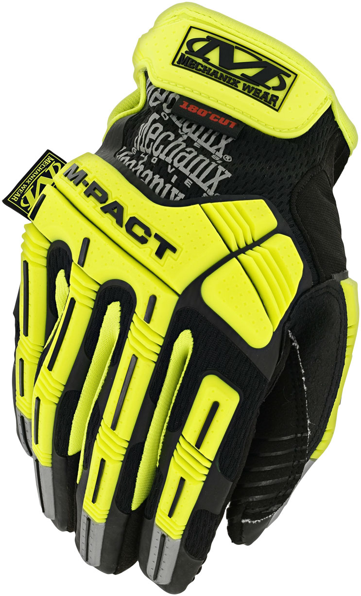 MechanixWear/メカニクスウェア Hi-Viz M-pact E5 Glove 【SAFETY YELLOW】