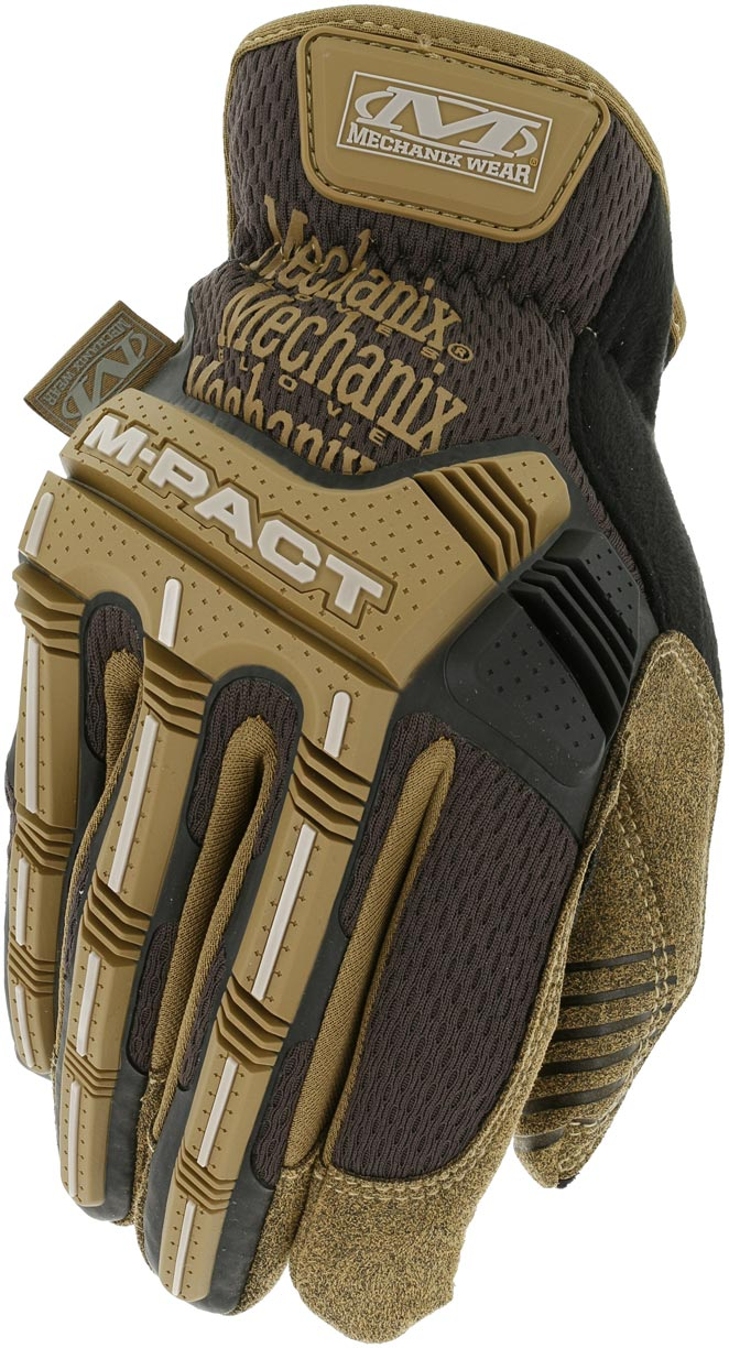 MechanixWear/メカニクスウェア M-pact Open Cuff Glove 【BROWN】