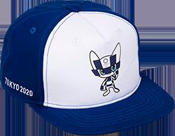 キッズキャップ(東京2020オリンピックマスコット)ホワイト