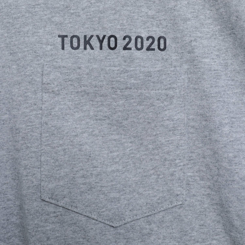 Tシャツ(東京2020パラリンピックエンブレム)(グレー)