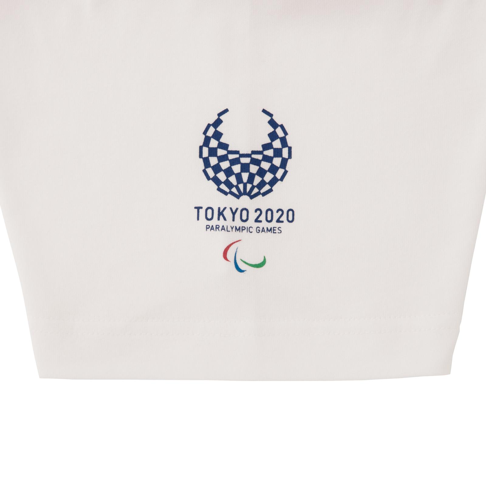 Tシャツボッチャ(東京2020パラリンピックスポーツピクトグラム)