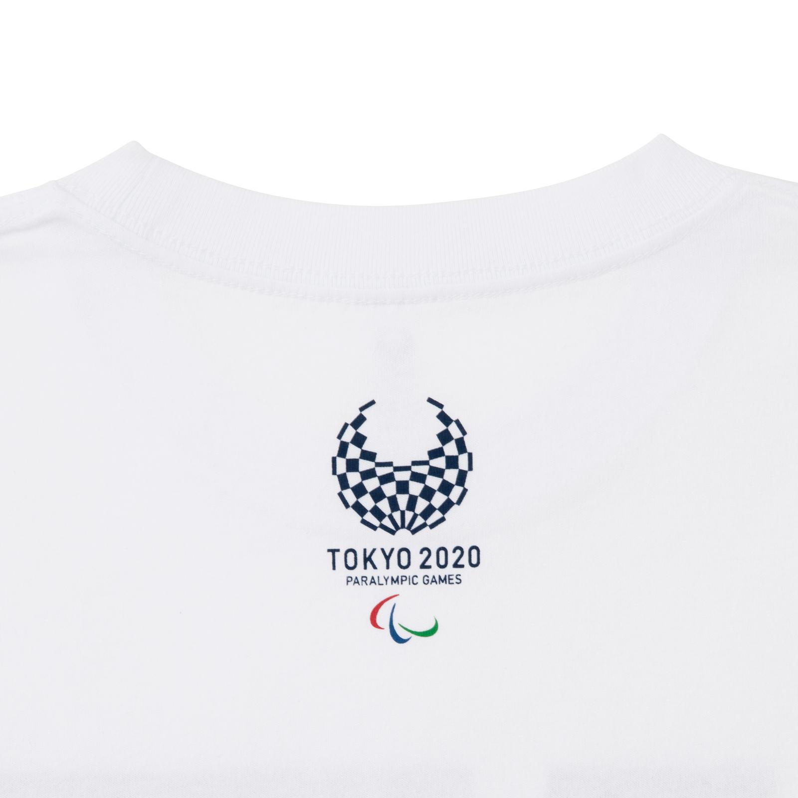 Tシャツシッティングバレーボール(東京2020パラリンピックスポーツピクトグラム)