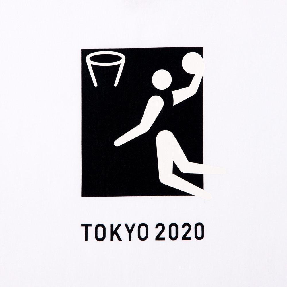 Tシャツバスケットボール(東京2020オリンピックスポーツピクトグラム)