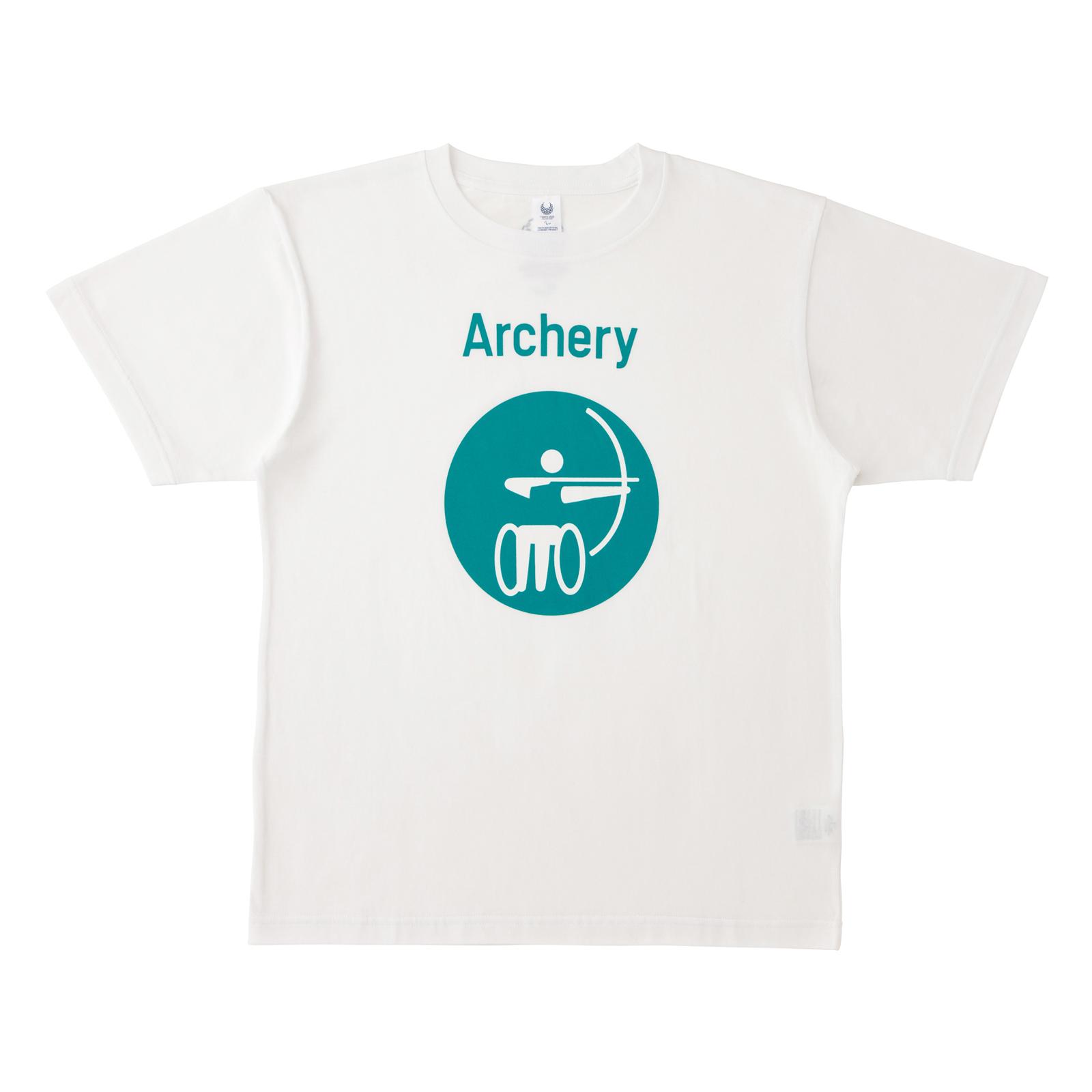 Tシャツアーチェリー(東京2020パラリンピックスポーツピクトグラム)