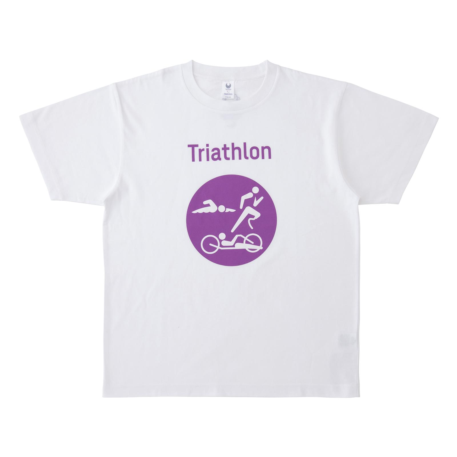 Tシャツトライアスロン(東京2020パラリンピックスポーツピクトグラム)