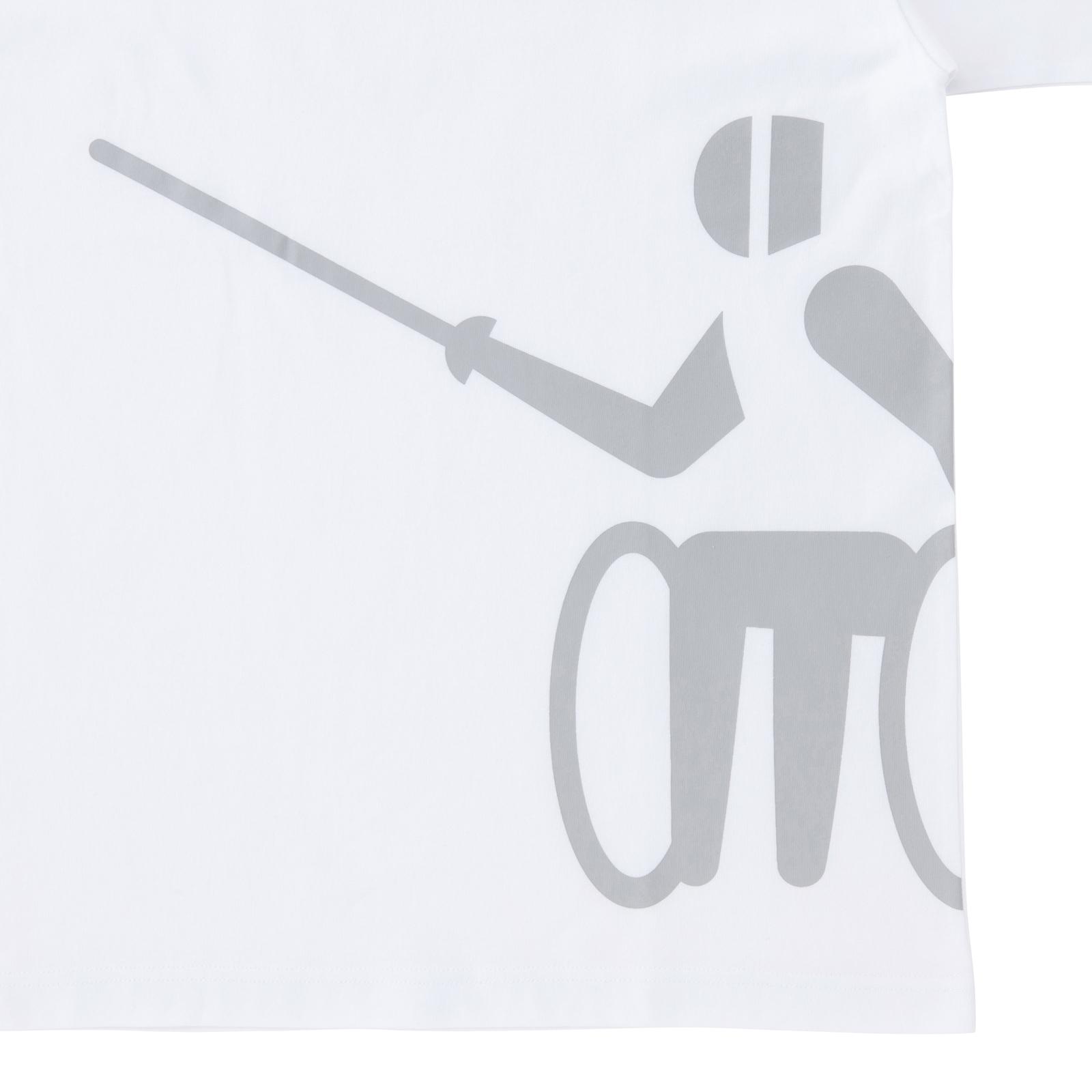 Tシャツ車いすフェンシング(東京2020パラリンピックスポーツピクトグラム)