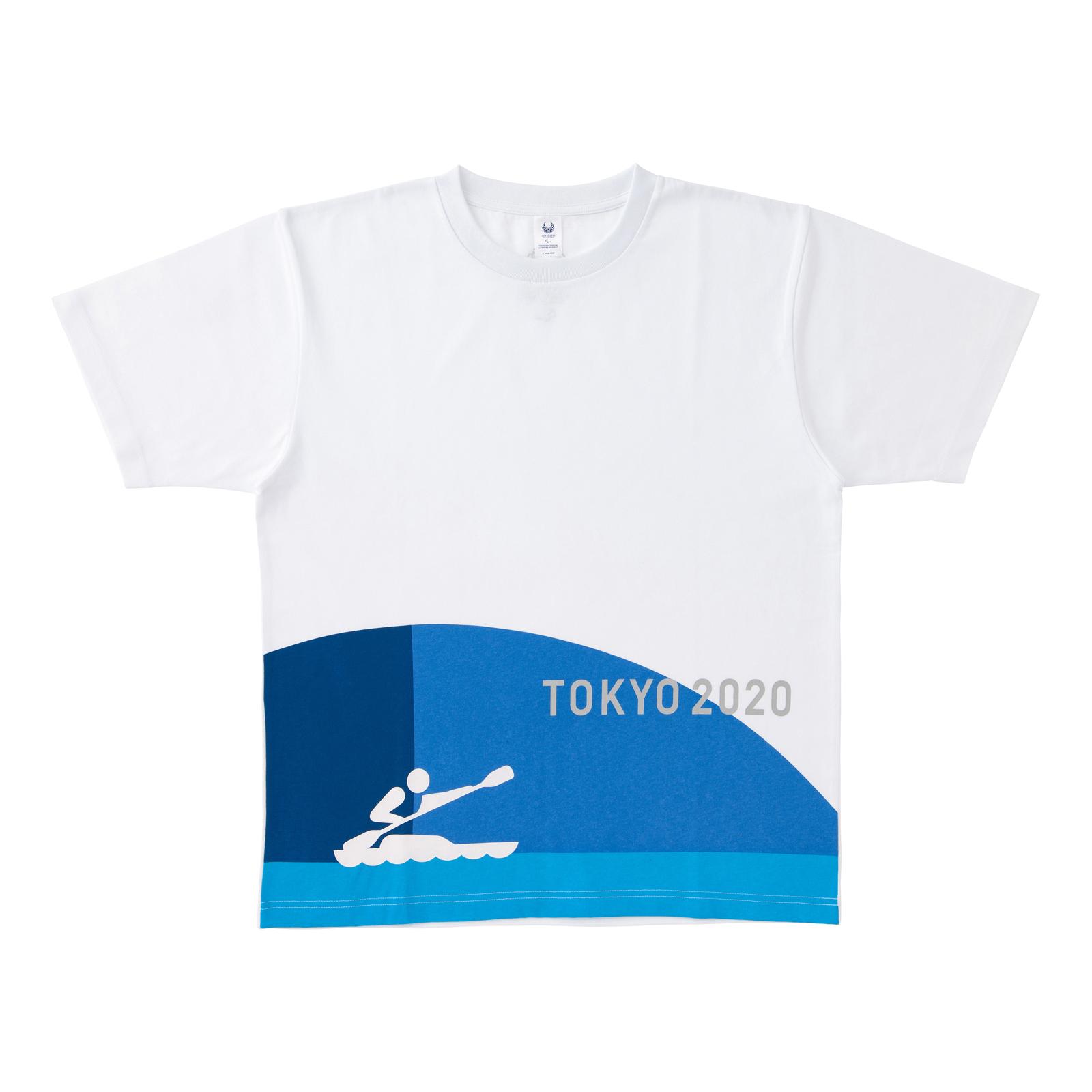 Tシャツカヌー(東京2020パラリンピックスポーツピクトグラム)