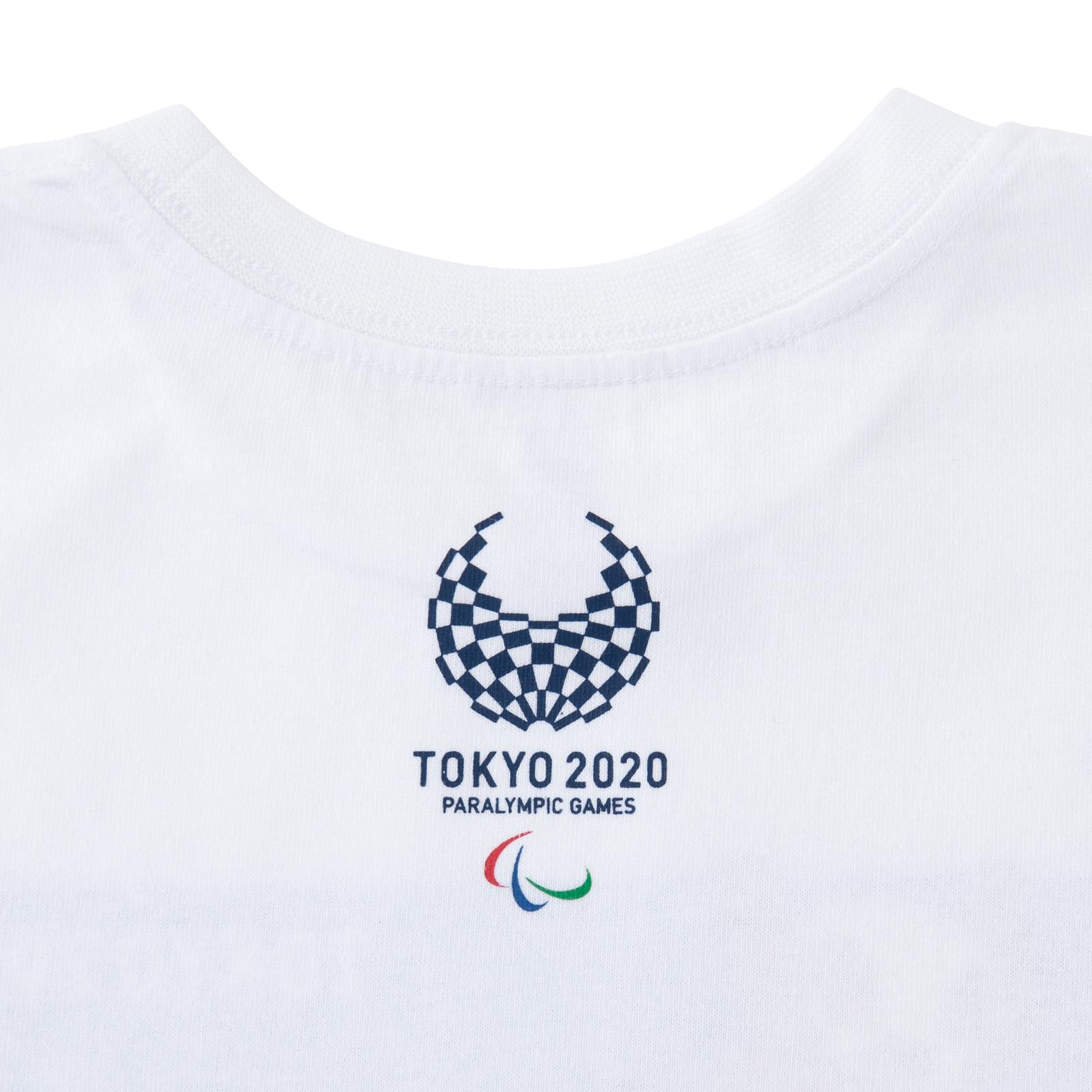 KIDSTシャツバドミントン(東京2020パラリンピックマスコット)