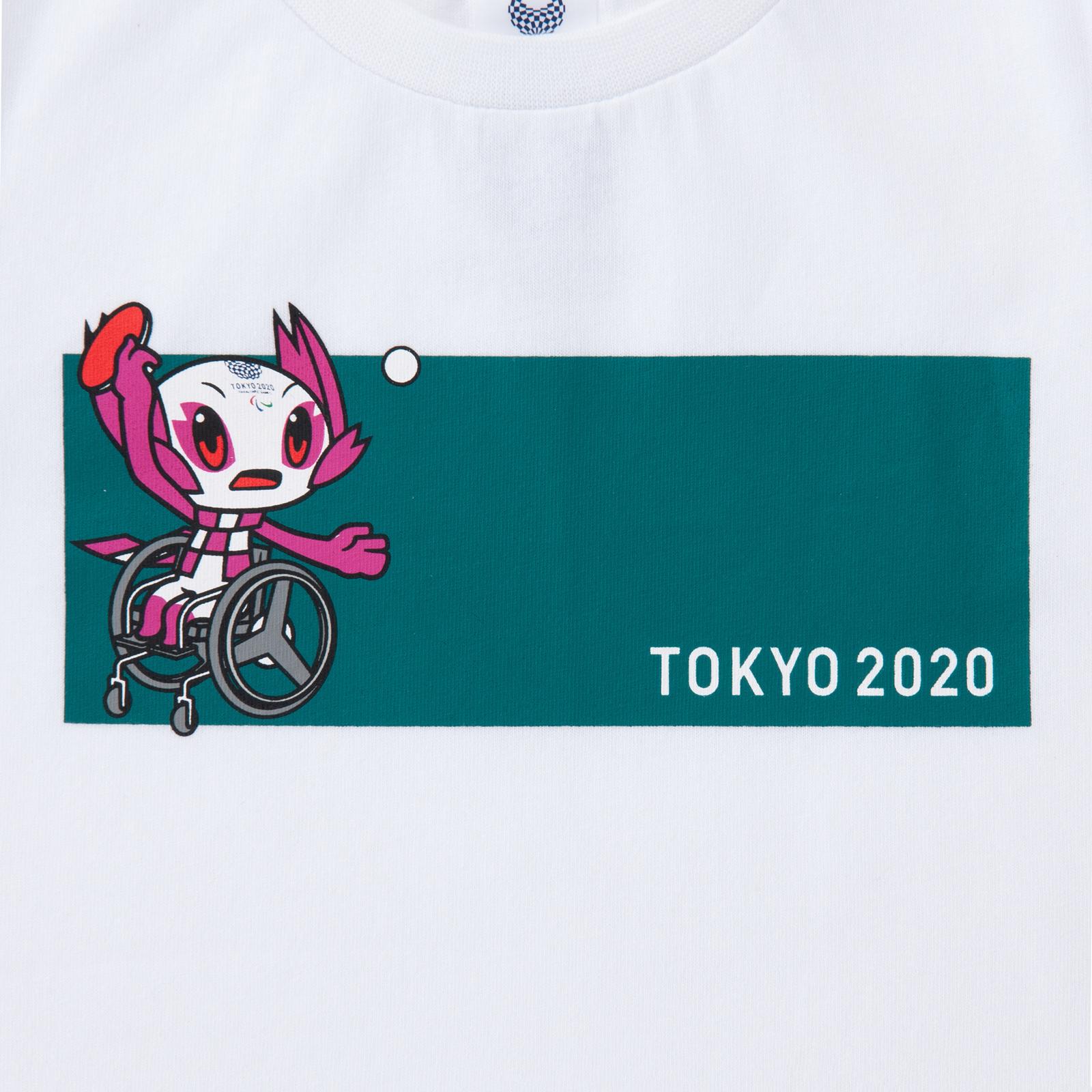 KIDSTシャツ卓球(東京2020パラリンピックマスコット)