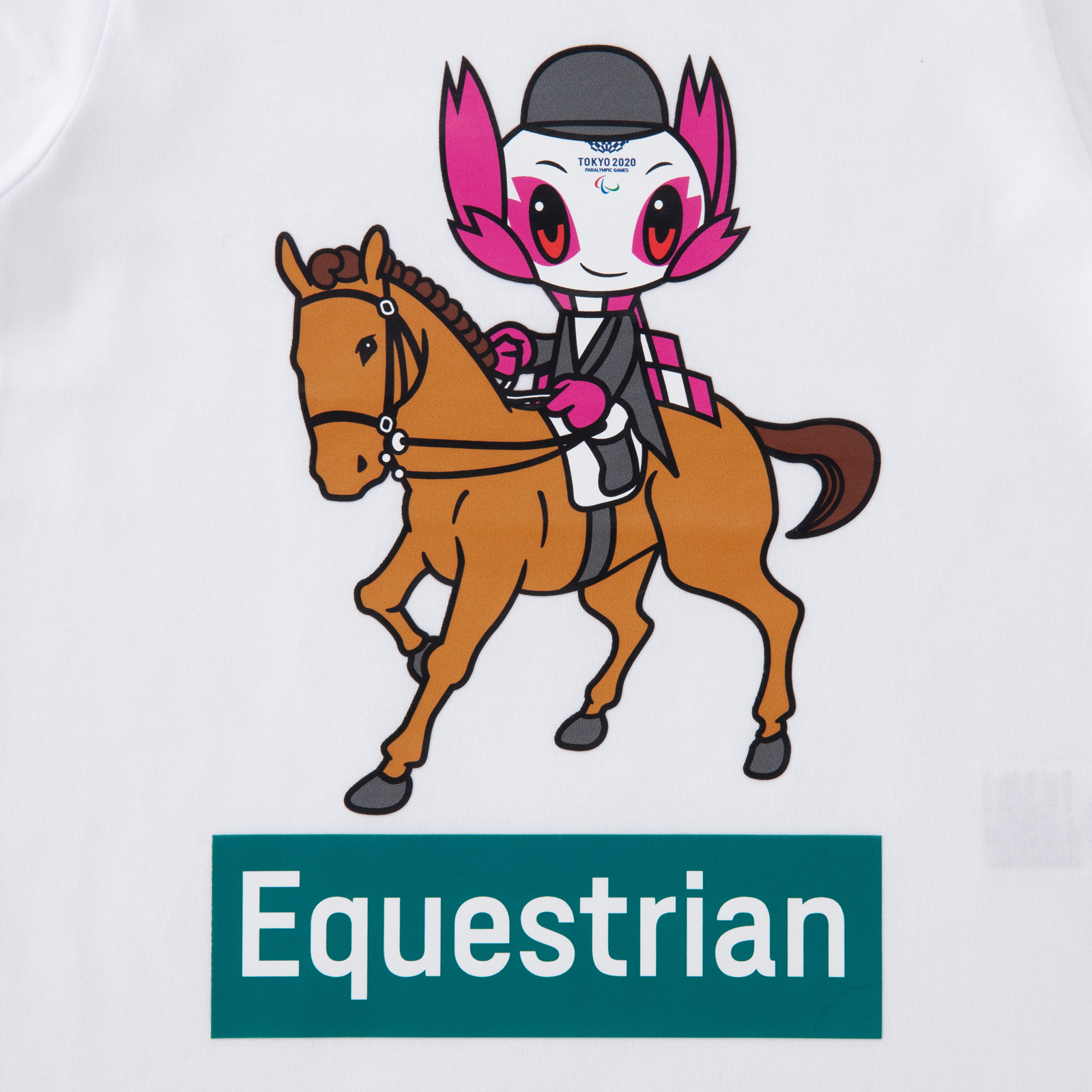 KIDSTシャツ馬術(東京2020パラリンピックマスコット)