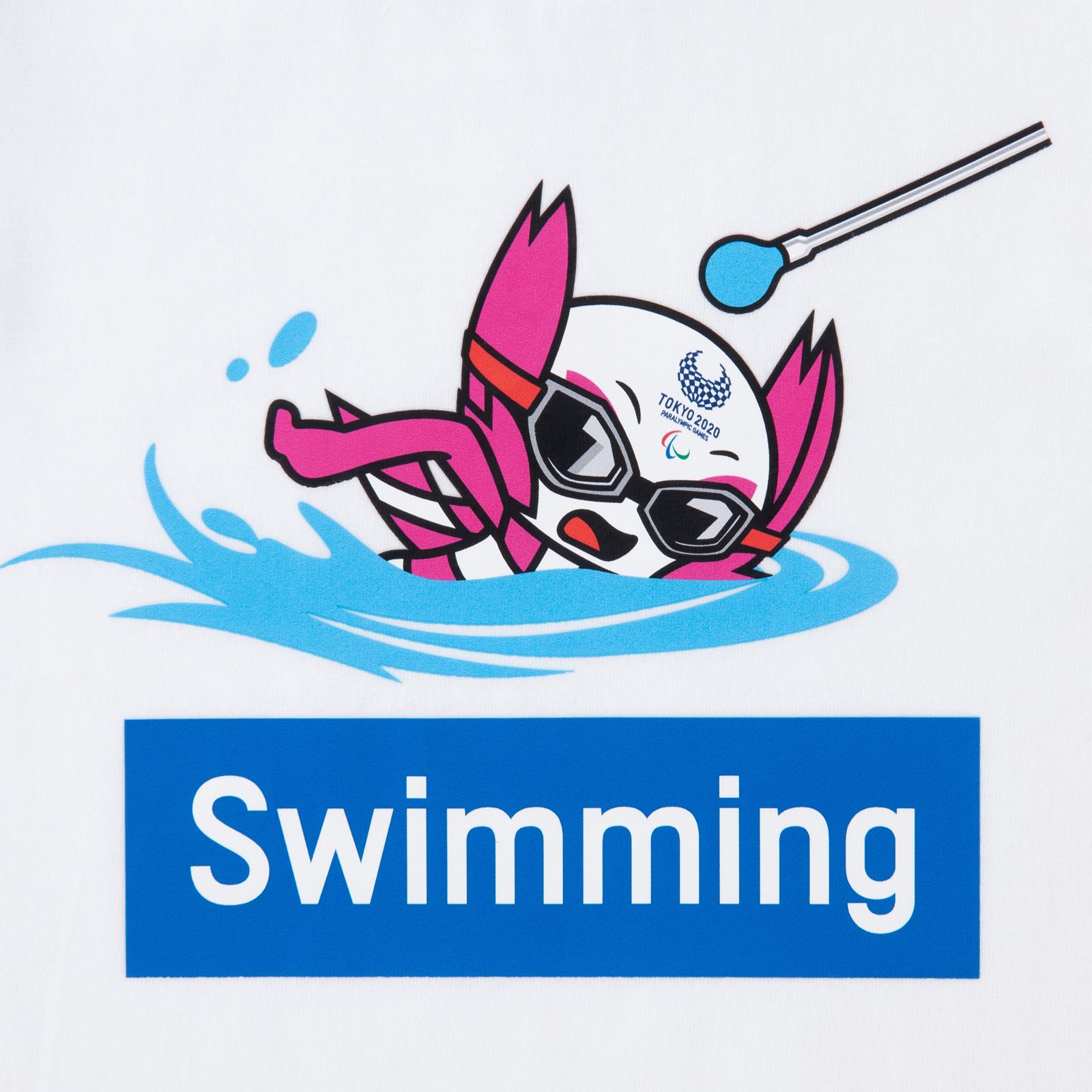 KIDSTシャツ水泳(東京2020パラリンピックマスコット)