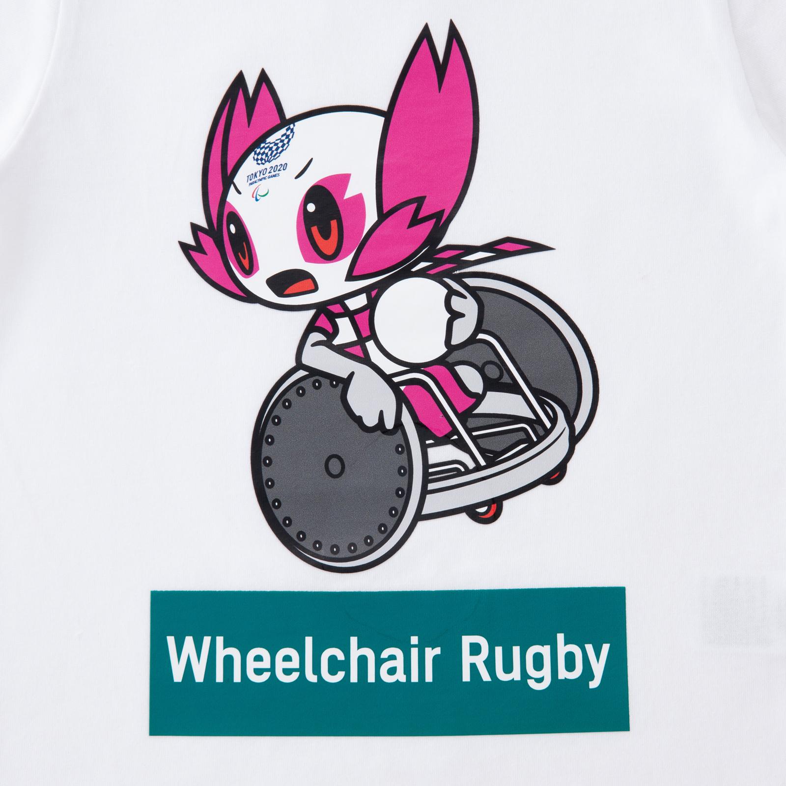 KIDSTシャツ車いすラグビー(東京2020パラリンピックマスコット)