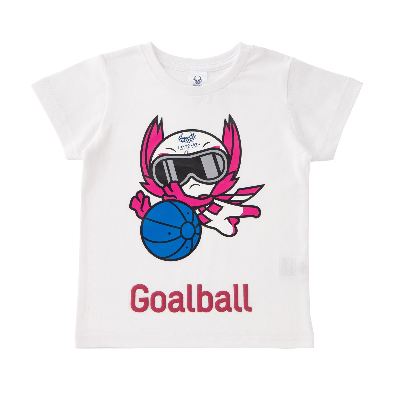 KIDSTシャツゴールボール(東京2020パラリンピックマスコット)