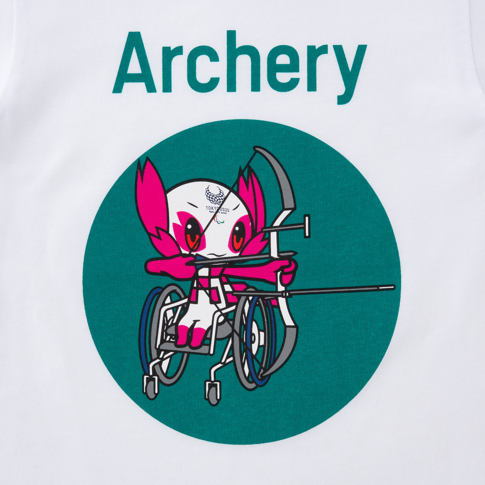KIDSTシャツアーチェリー(東京2020パラリンピックマスコット)