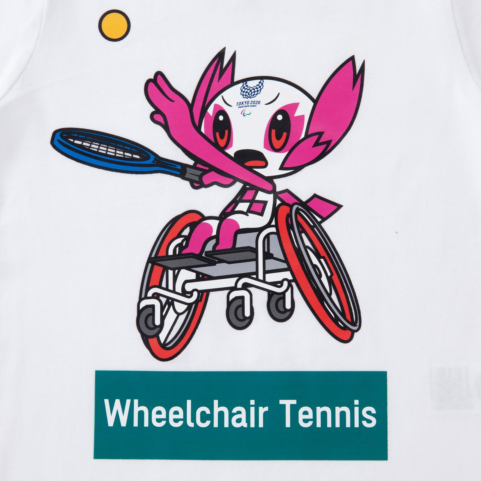 KIDSTシャツ車いすテニス(東京2020パラリンピックマスコット)