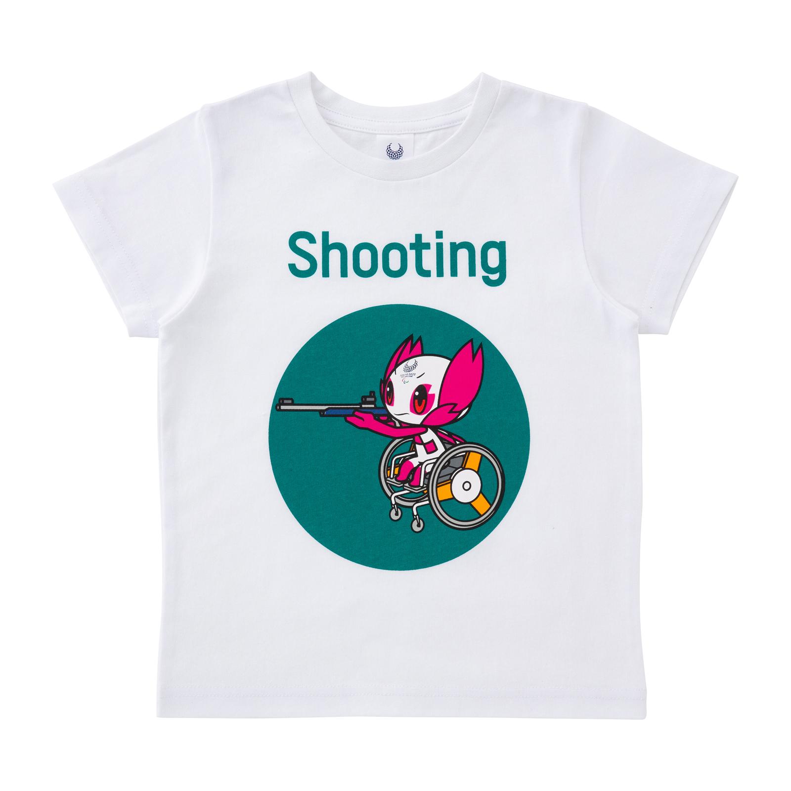KIDSTシャツ射撃(東京2020パラリンピックマスコット)