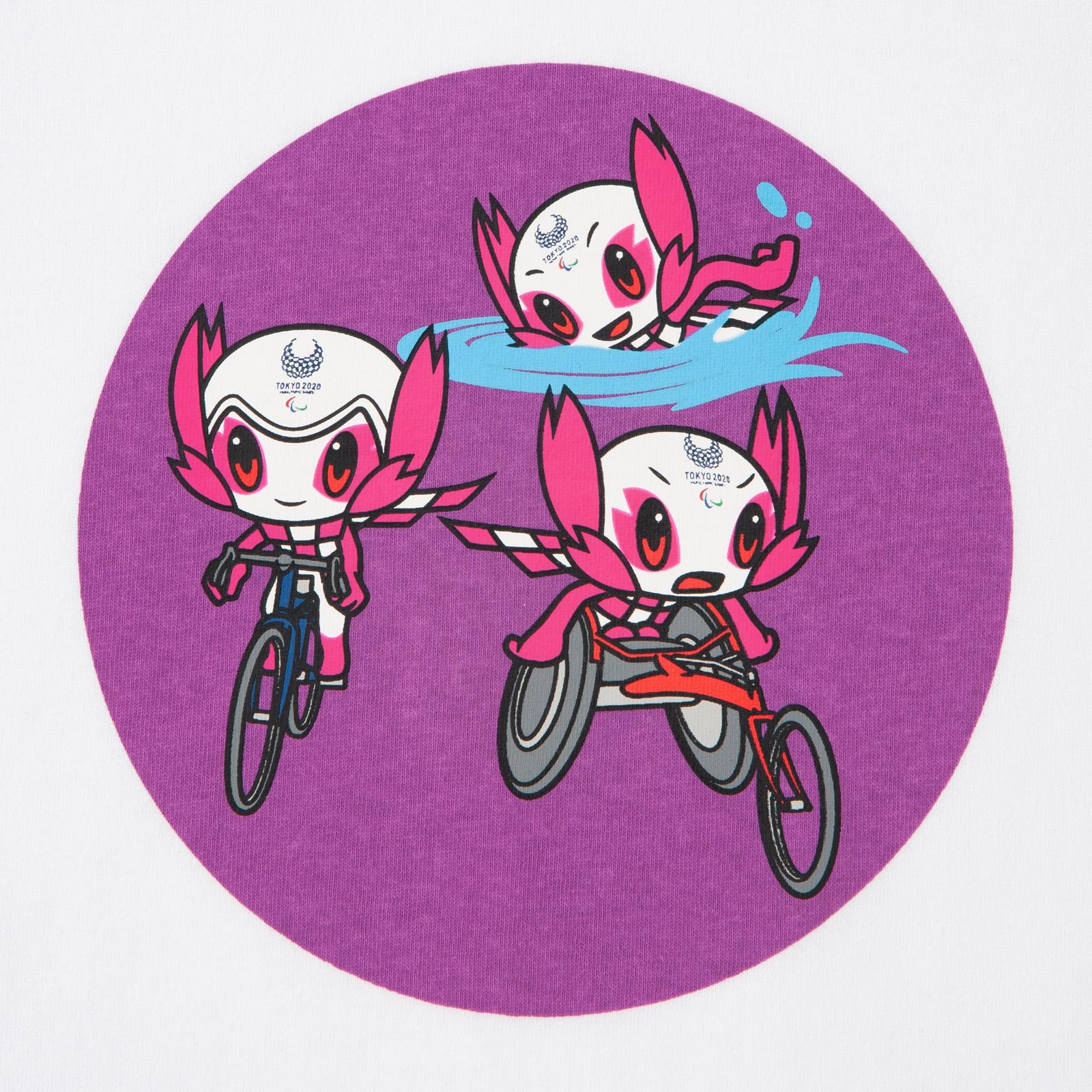 KIDSTシャツトライアスロン(東京2020パラリンピックマスコット)