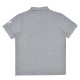 袖刺繍ユニセックスポロシャツ(東京2020パラリンピックエンブレム)グレー