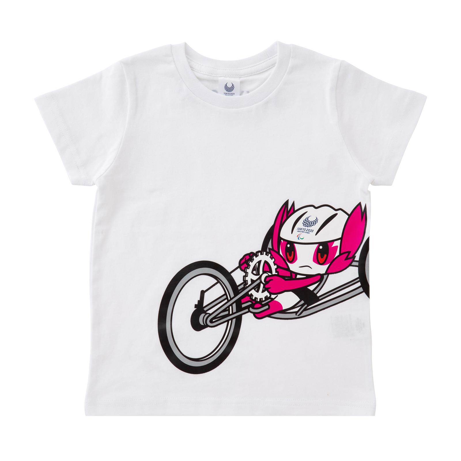 KIDSTシャツ 自転車競技 ロード(東京2020パラリンピックマスコット)