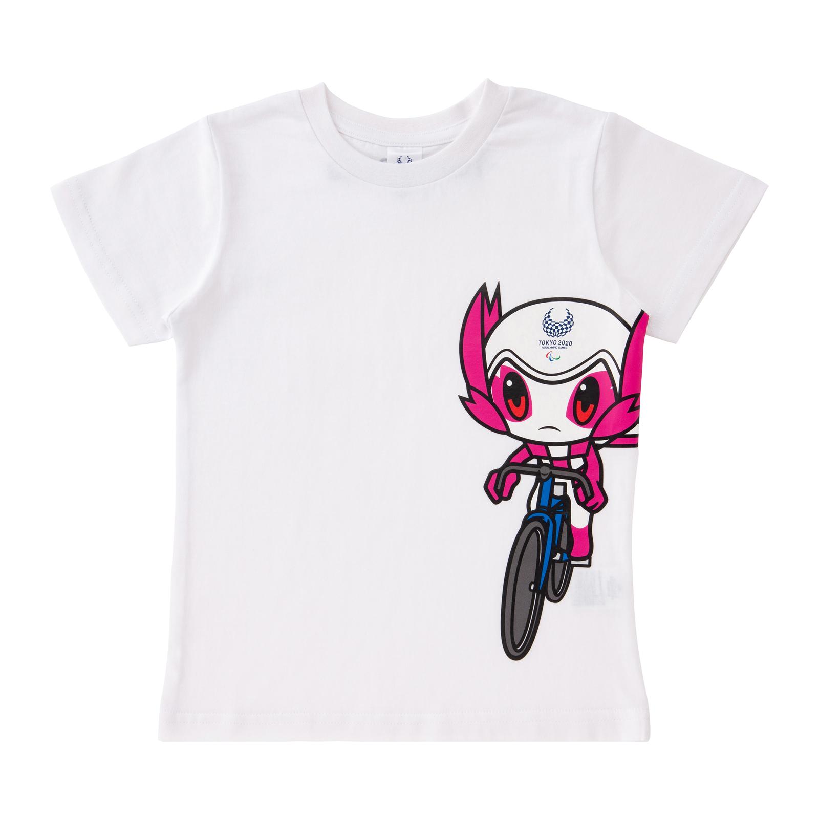 KIDSTシャツ 自転車競技 トラック(東京2020パラリンピックマスコット)