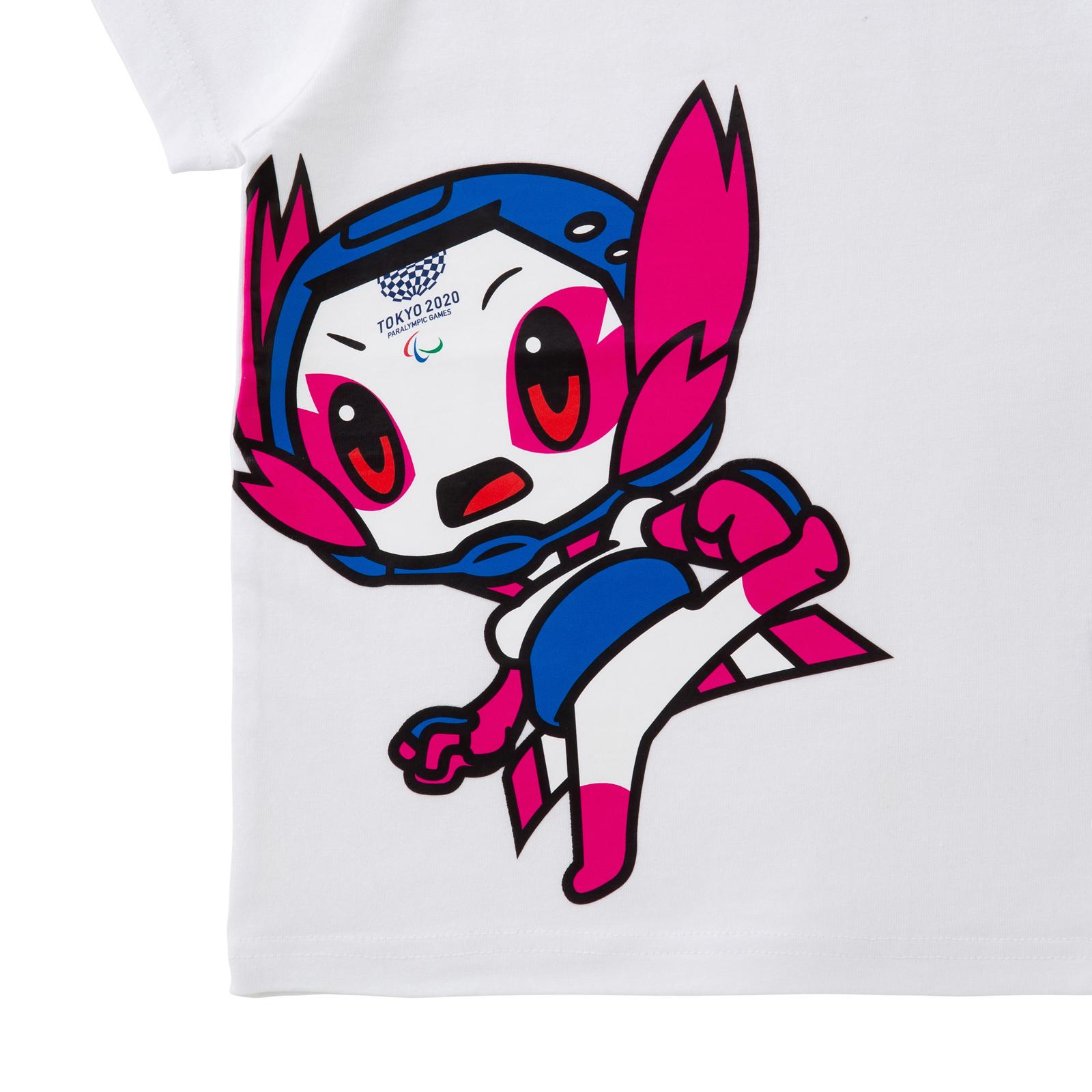 KIDSTシャツテコンドー(東京2020パラリンピックマスコット)