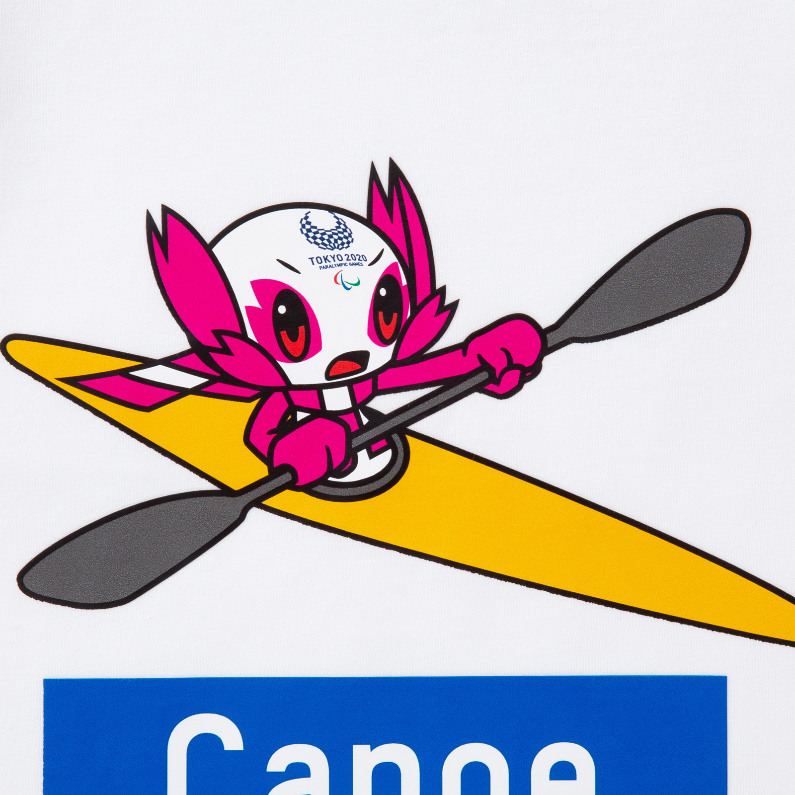 KIDSTシャツカヌー(東京2020パラリンピックマスコット)