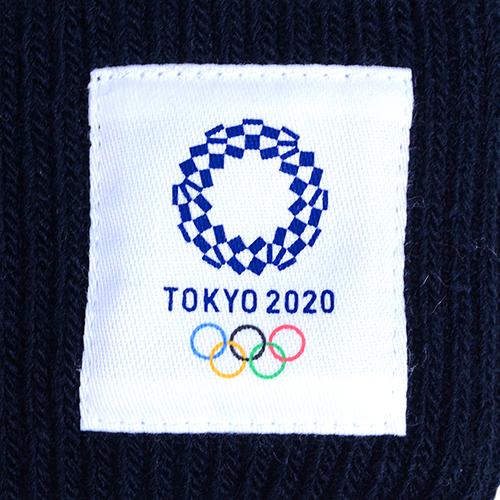 ジャガードニットワッチ(東京2020オリンピックエンブレム)ブラック