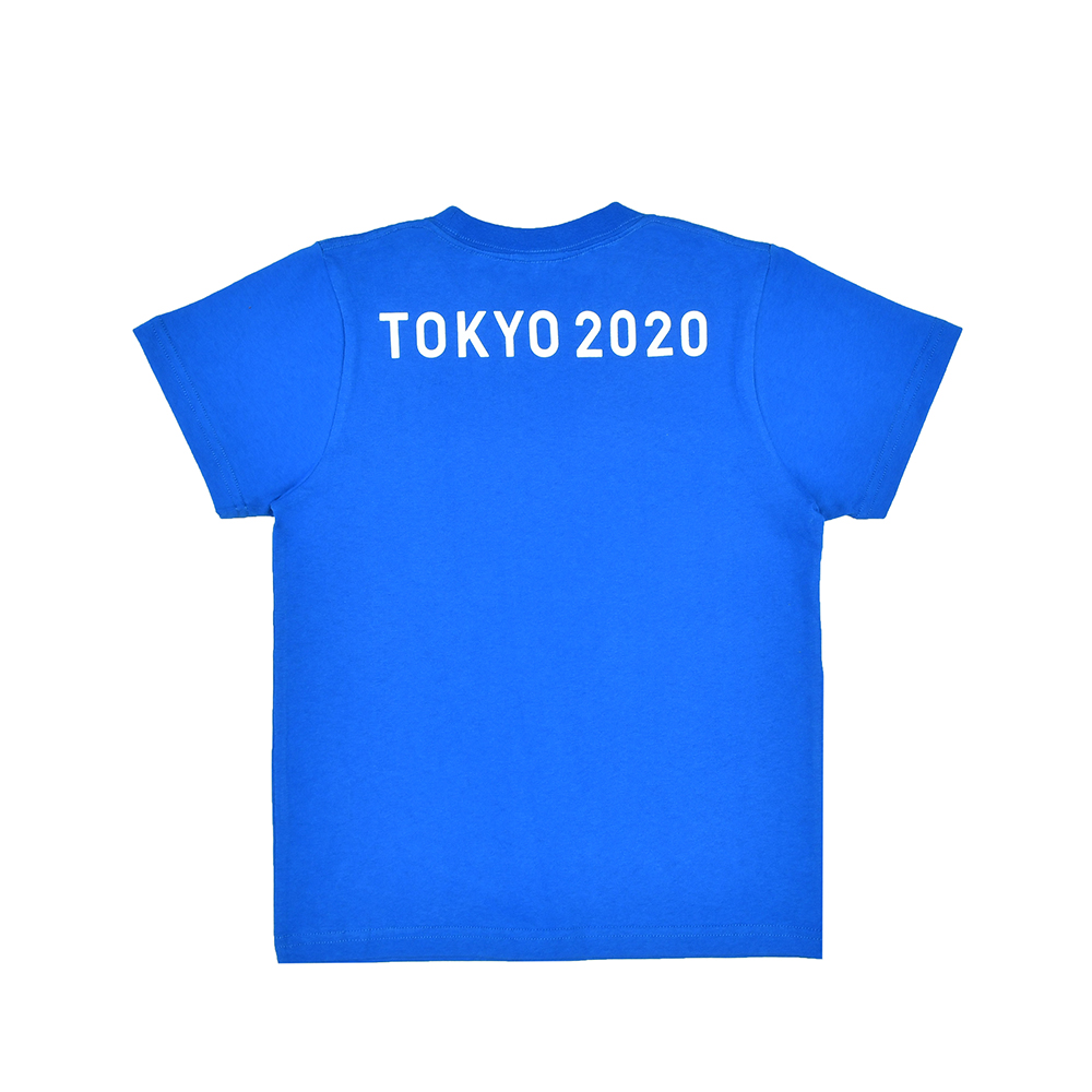 エンブレムTシャツ(スクール)(東京2020パラリンピックエンブレム)ブルー