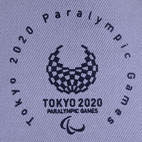 エンブレムキャップ(東京2020パラリンピックエンブレム)グレー