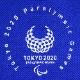 エンブレムキャップ(東京2020パラリンピックエンブレム)ブルー