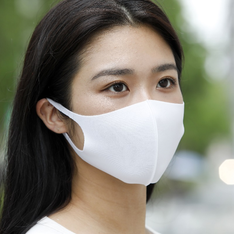 EITORE -Polyester Stretch Mask-(3枚入)ホワイト