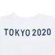 エンブレムTシャツ(スクール)(東京2020パラリンピックエンブレム)ホワイト