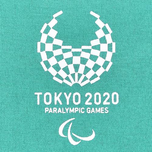 キッズユニセックスマルチパターンTシャツ(東京2020パラリンピックエンブレム)マルチカラー