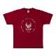 Tシャツ(東京2020パラリンピックエンブレム)バーガンディ