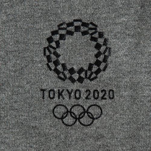 トレーナー(東京2020オリンピックエンブレム)(グレー)