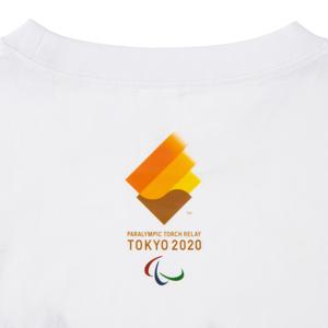 プリントTシャツ(東京2020パラリンピック聖火リレーマスコット)ホワイト
