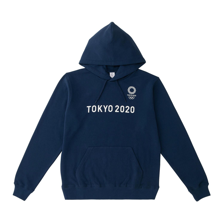 フーディー(東京2020オリンピックエンブレム)(ネイビー)
