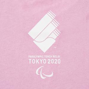 プリントTシャツ(東京2020パラリンピック聖火リレーマスコット)ピンク