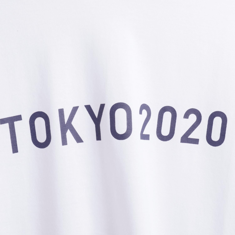 Tシャツ(東京2020オリンピックエンブレム)(ホワイト)