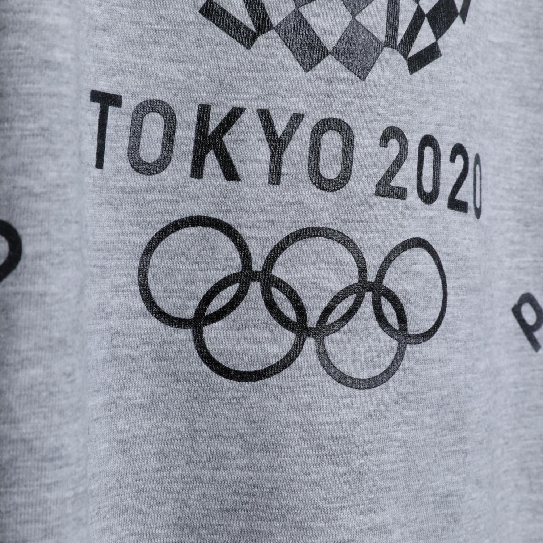 Tシャツ(東京2020オリンピックエンブレム)(グレー)
