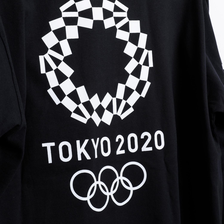 ロングTシャツ(東京2020オリンピックエンブレム)(ブラック)